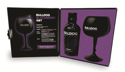 Bulldog Gin 40% 70cl Black Coppa Giftbox