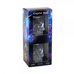 Crystal Head Vodka Mini 2x5cl Giftbox