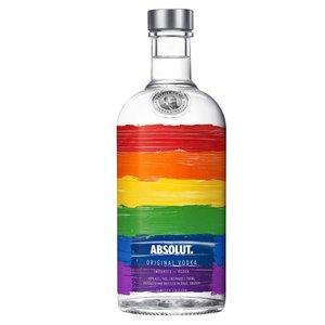 Absolut Original Vodka Rainbow Edition 40% 70cl