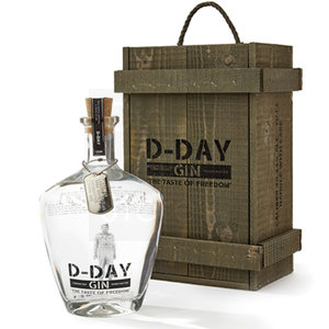 D-Day Gin Giftbox (kist) 70cl