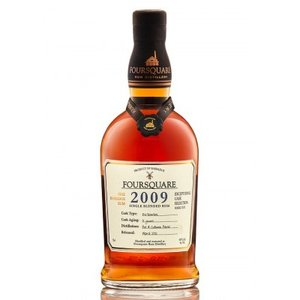 Foursquare 2009 12 Years Single Blended Rum 60% 70cl