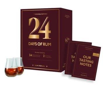 24 Days of Rum Calendar 2021 Edition Giftbox