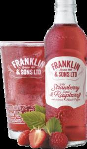 Franklin & Sons Strawberry & Raspberry 275ml