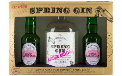 Giftpack Spring Gin Ladies Edition 50cl + 2 Fentimans tonic