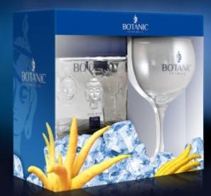 Giftpack Botanic Premium Gin 70cl +glas