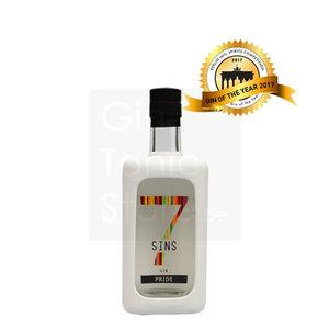7 sins pride gin 50cl 4 pack fever tree gratis online. Black Bedroom Furniture Sets. Home Design Ideas