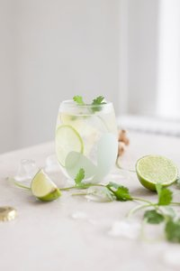 Origineel glas Clover Gin