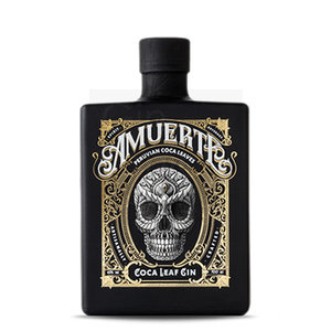 Amuerte Coca Leaf Gin 70cl Black Edition