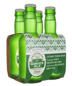 Fentimans Ginger Ale 4x200ml