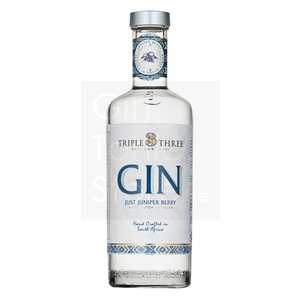 Triple Three 100% Juniper Berry Gin 75cl
