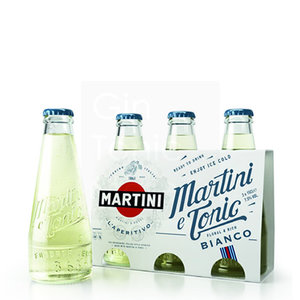 Martini & Tonic Bianco Ready To Drink 3x15cl