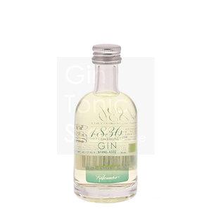 1836 Belgian Organic Barrel Aged Gin Mini 5cl
