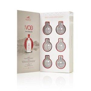 Lakes Vodka Kerstballen 6x5cl Giftpack