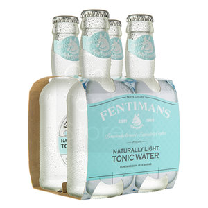 Fentimans Light Tonic Water 4x200ml