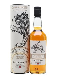 Lagavulin Game of Thrones 9 Years Old Single Malt Whisky 46% 70cl