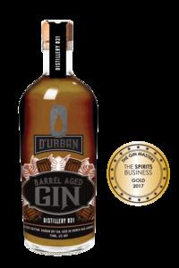 Durban Barrel Aged Gin 43% 75cl