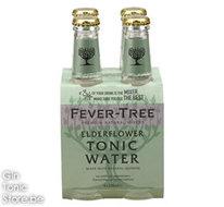 Fever-Tree Elderflower Tonic Water 4x20cl