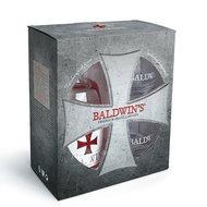 Giftpack Baldwin's Premium Distilled Gin 50cl