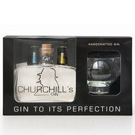 Churchill's Gin 50cl Giftpack